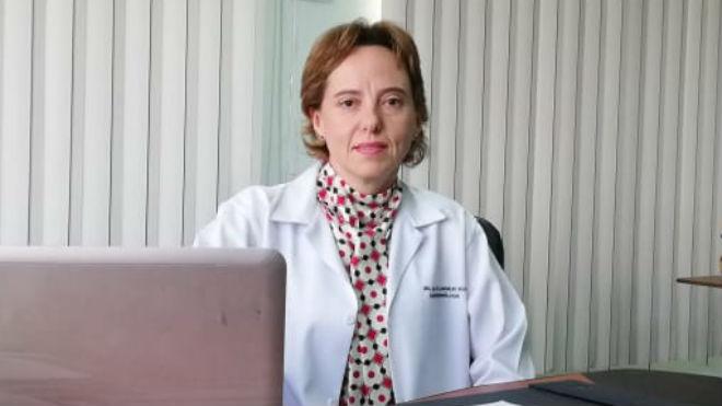 Mar�a de los �ngeles Silva, presidenta de la Sociedad de Gastroenterolog�a.
