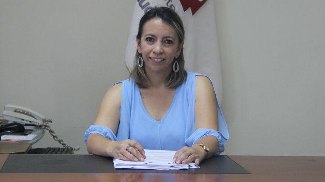 Silvia Jara, Directora Distrital de Morona.