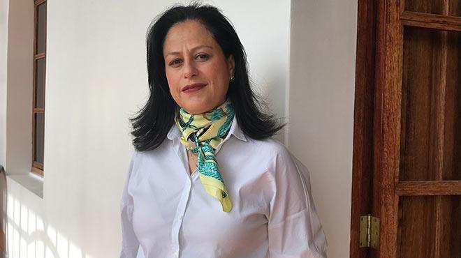 Silvia Montoya, gerente del proyecto contra la ?Falsificaci�n de productos   y la Usurpaci�n de Marcas?.