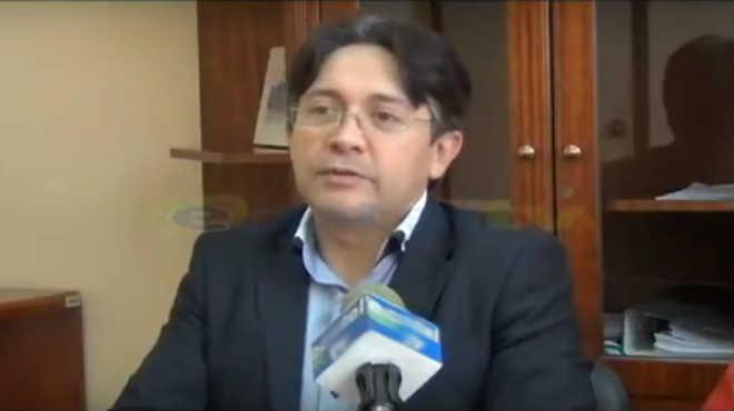 Marcos Montero, director m�dico del Hospital de Loja