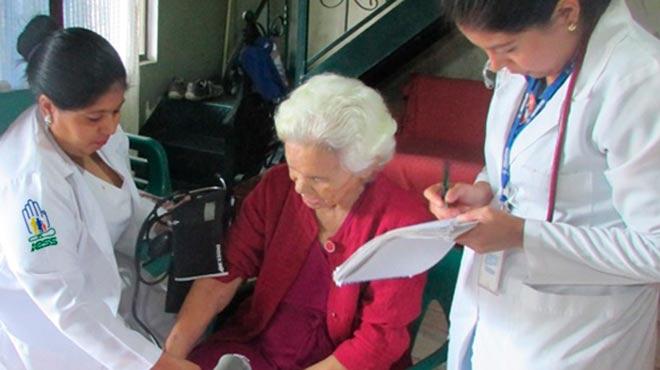 En lo que va del a�o el Hospital General de Ambato del IESS ha realizado alrededor de 600 visitas.