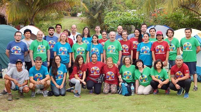 Voluntarios de las brigadas de apoyo humanitario de la SEF.