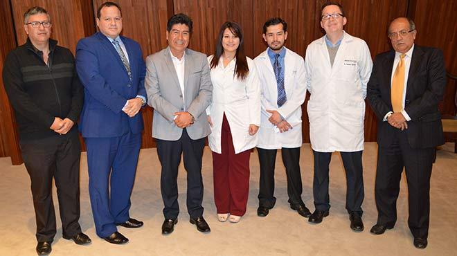 V�ctor �lvarez, Ernesto Carrasco, Jorge Yunda, Catalina Espina, Christian Silva, Francisco S�nchez y Miguel L�pez.