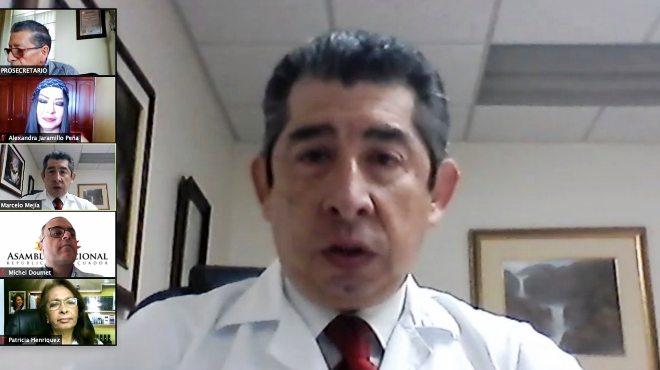 Marcelo Mej�a, director ejecutivo de SOLCA Tungurahua.
