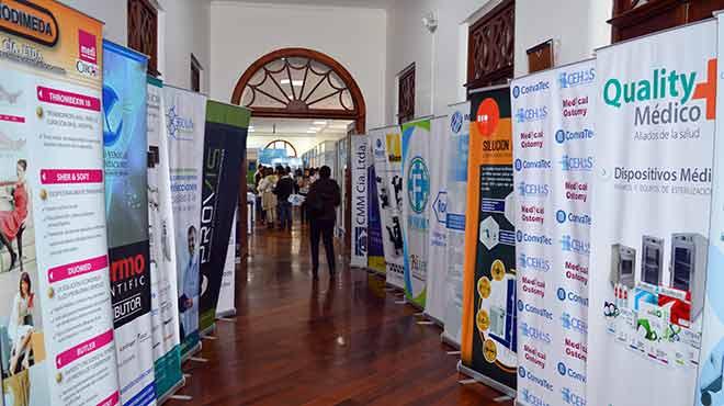 Ingreso a TECHMED Ecuador 2019.
