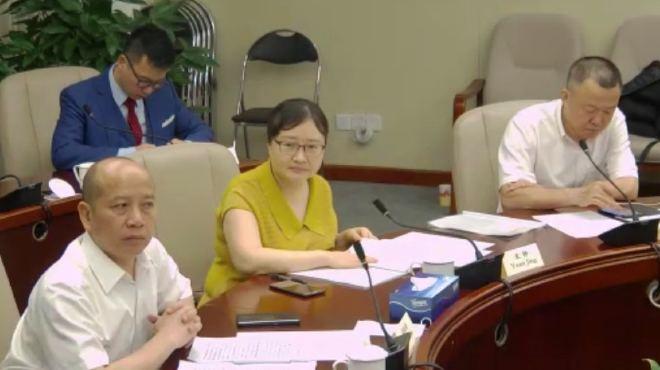Xinhua Pan, Yuan Jing y Liu Lei.