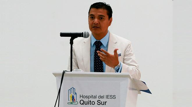 Danilo Calder�n, gerente del HQSUR.
