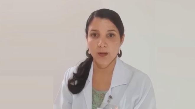 Ver�nica Moreira, psic�loga del Instituto de Neurociencias.