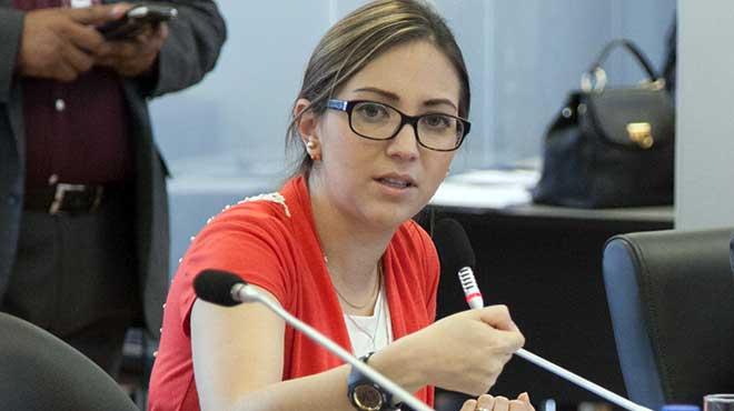 Ver�nica Espinosa, exministra de Salud.