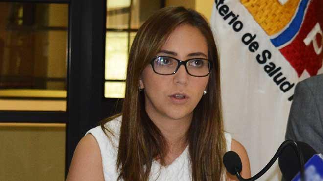 Ver�nica Espinosa, ministra de Salud