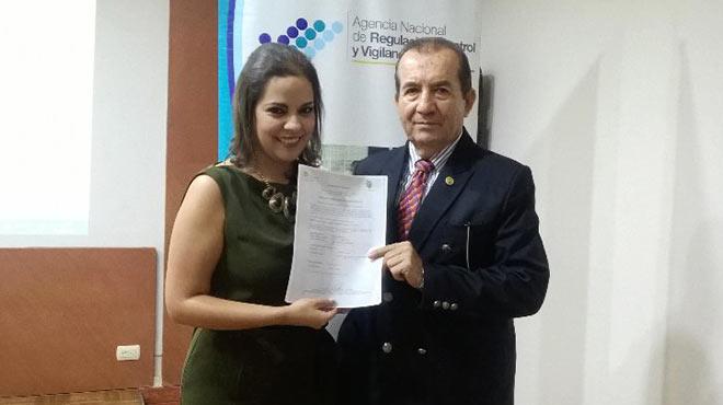 Ver�nica Loaiza y Abel Romero.