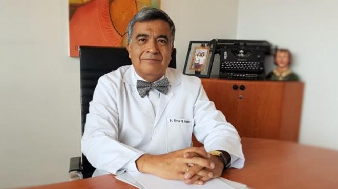 V�ctor Manuel Pacheco, presidente de la Comisi�n Nacional de Bio�tica en Salud.