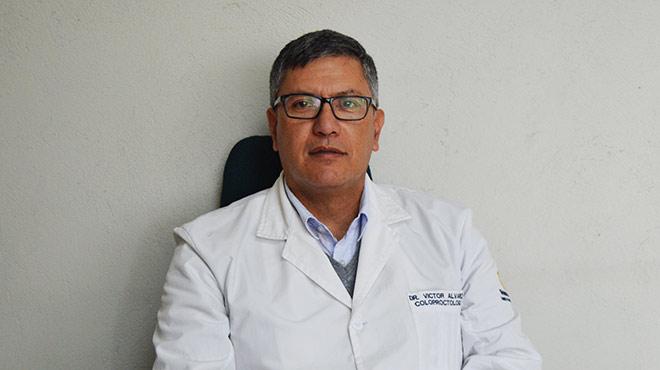 Víctor Álvarez, presidente del Colegio de Médicos de Pichincha.