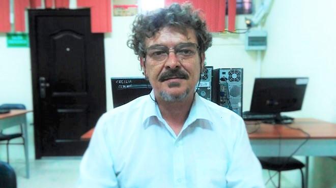 Victoriano Camas, docente de la Universidad Laica Eloy Alfaro de Manabí (ULEAM).