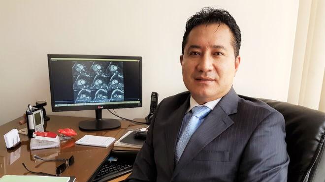 Vinicio Araque, cardi�logo ecuatoriano.
