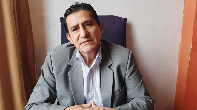 Washington Calle, director Fundaci�n Ecuatoriana Protrasplantes.