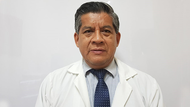Washington Ladines, jefe del servicio de Hematolog�a del HTMC.