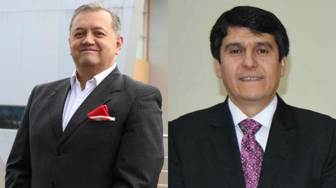 Fabricio Gonz�lez y Enrique Ter�n, docentes investigadores.