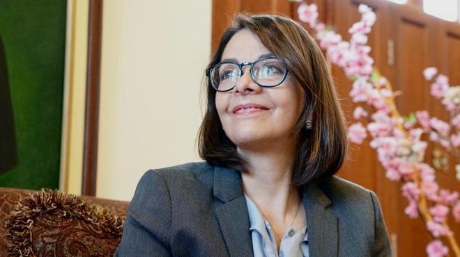 Ximena Garzón, ministra de Salud.