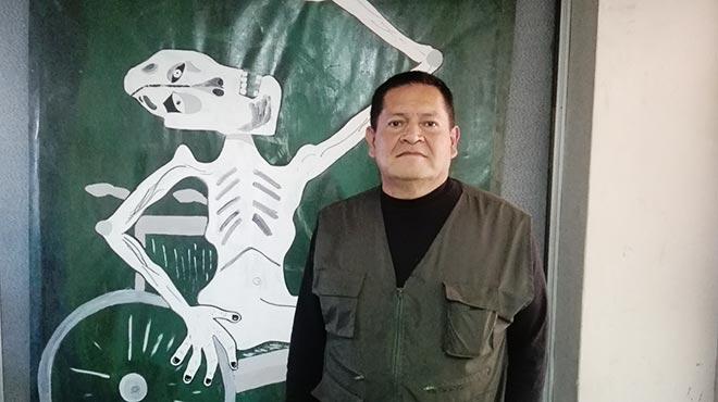 William Díaz, director administrativo de la Asociación de Personas con Discapacidad 'Unámonos'
