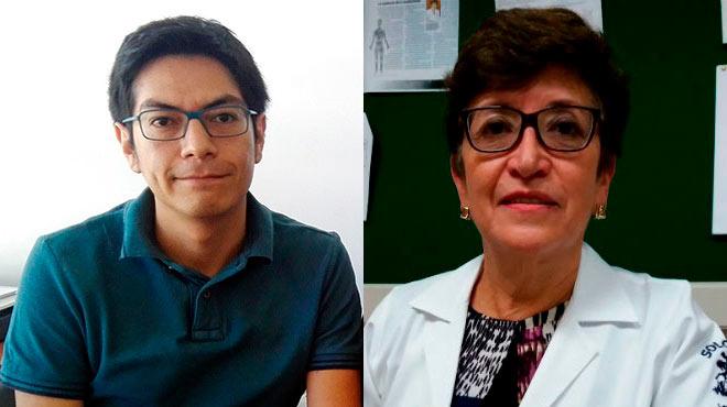 Wilmer Tarupi y Patricia Cueva, investigadores ecuatorianos.