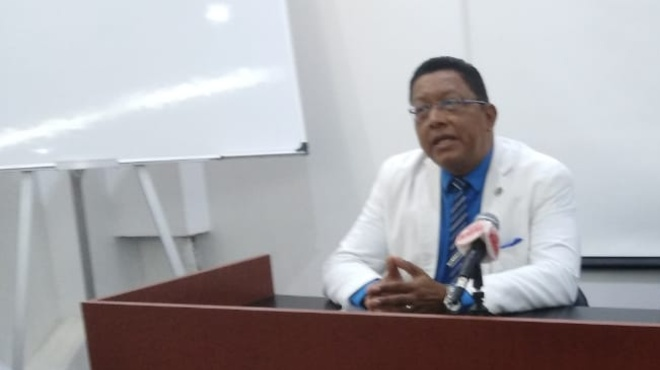 Wilson Tenorio, presidente del CMG.