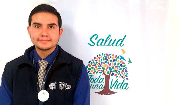 Wilson Noboa, responsable nacional de registro de t�tulos de profesionales de la salud.