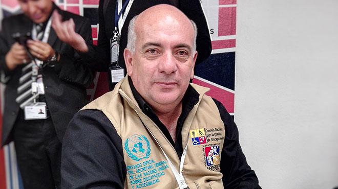 Xavier Torres, presidente del Conadis.