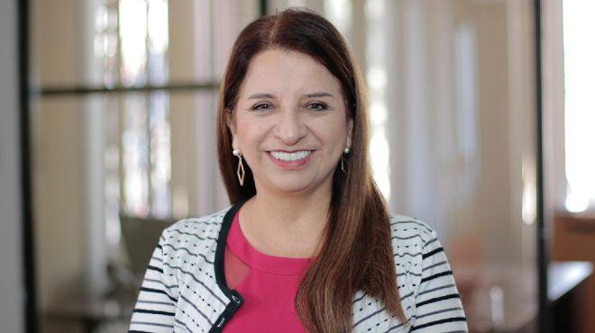 Ximena Pacheco, gerente general del Hospital Vozandes.