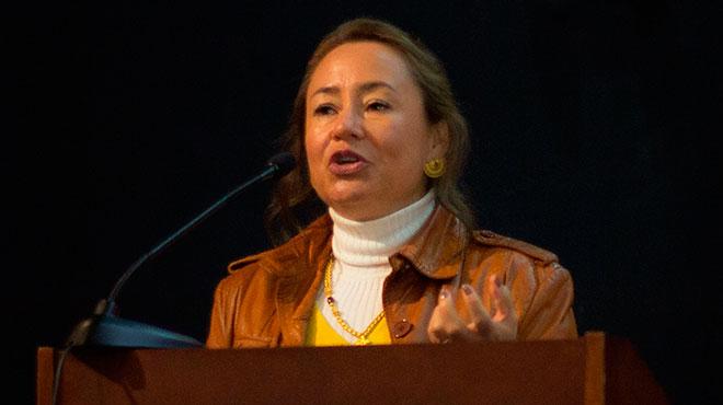 Ximena Ponce, subsecretaria de Ciencia, Tecnología e Innovación.