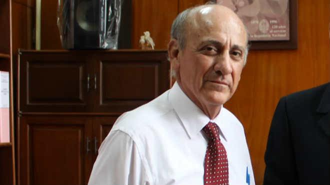 Walter Zaldivar, de la Universidad Nacional de Ingenier�a  de Per�