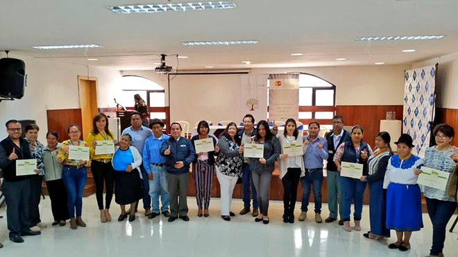 Unidades m�dicas de Imbabura reciben la certificaci�n del MSP.