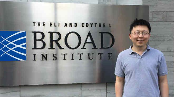 Zhang Feng, miebro del instituto BROAD.