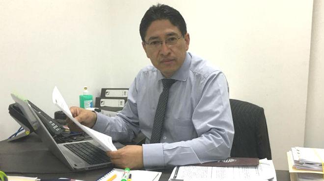 Pedro Aguilar, abogado del HCAM.