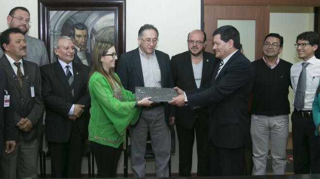 Representantes del MSP y de la FME firmaron el documento.