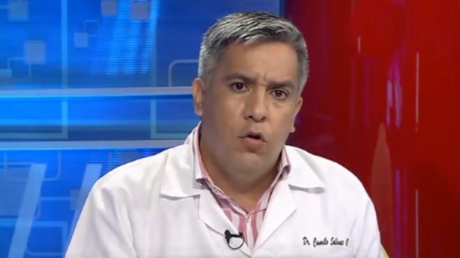 Camilo Salinas, ministro de Salud.