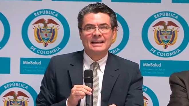 Alejandro Gaviria, ministro de Salud Colombia.
