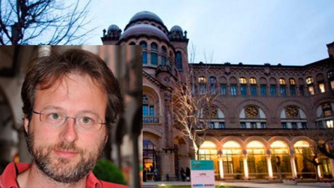 Alex Bay�s,cient�fico de la Universidad de Barcelona.