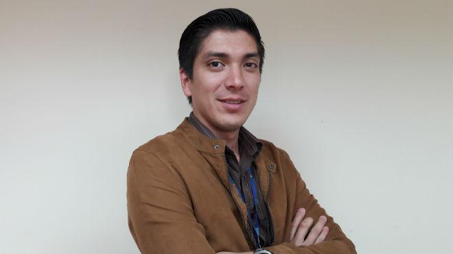 Alfredo Olmedo, presindente de la Federación de Profesionales de la Salud Rural.