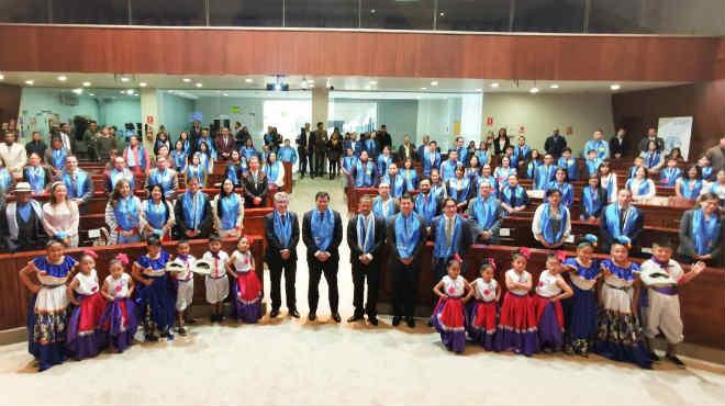 En la Asamblea se realizó el Foro de Alimentación Escolar-Ecuador ?Nutriendo el Presente?.