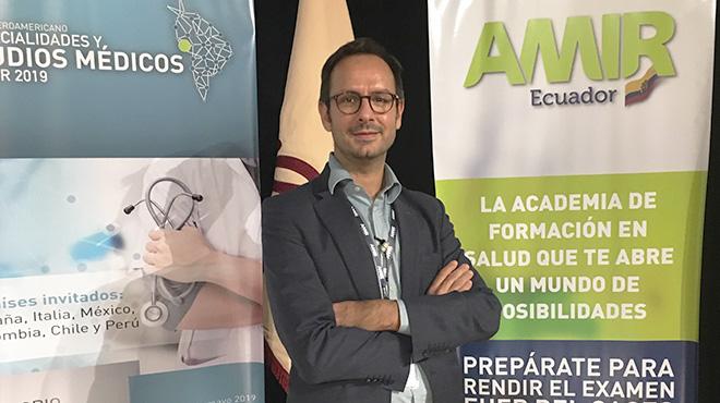 Jaime Campos, director de la academia AMIR.