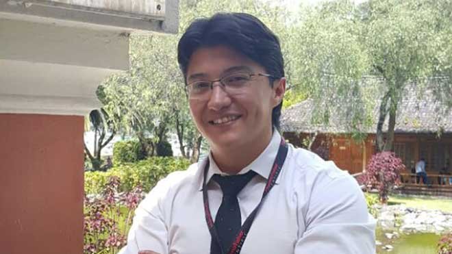 Andr�s Caicedo, director del laboratorio de Investigaci�n de Medicina de la USFQ.