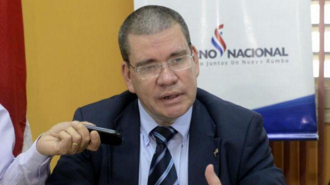 Antonio Barrios, ministro de Salud de Paraguay.