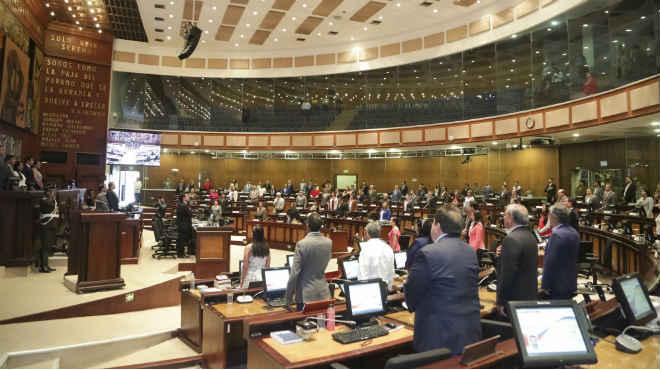 El Pleno de la Asamblea ha postergado la votaci�n del COS para las 12:30.
