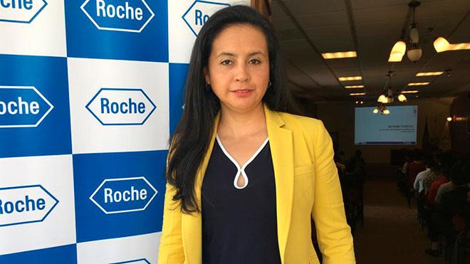 Mar�a Bel�n Mera, ROCHE Ecuador.