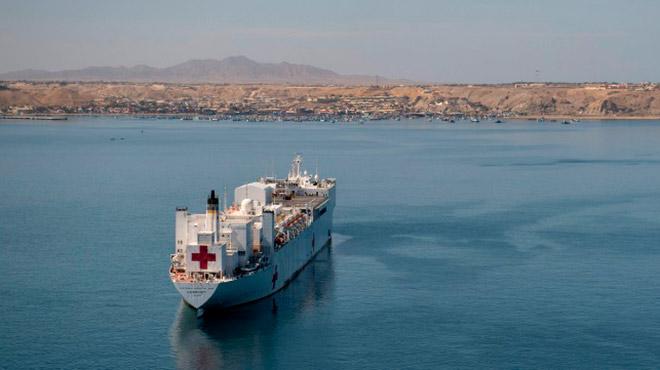 El USNS Comfort viajar� a Am�rica del Sur, Am�rica Central y el Caribe.