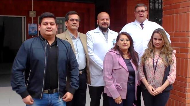 Investigadores de la Facultad de Ciencias M�dicas de la Universidad de Cuenca.
