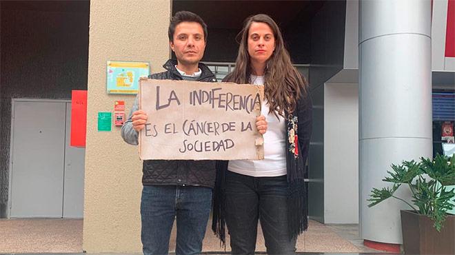 Wilson Merino, director ejecutivo de la Fundaci�n Cecilia Rivadeneira, y Rebeca Bianqui, directora de operaciones.