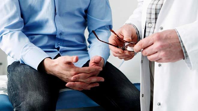 cáncer de próstata de sangre oculta en la feria