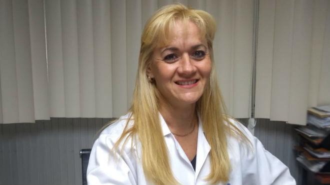 Mar�a Ceballos, jefe de la Unidad de Trasplante y Banco de Tejidos.
